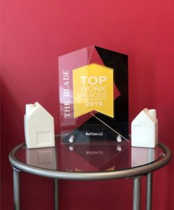 Homecare Toledo OH - 2019 Toledo Blade's Top Workplace Award