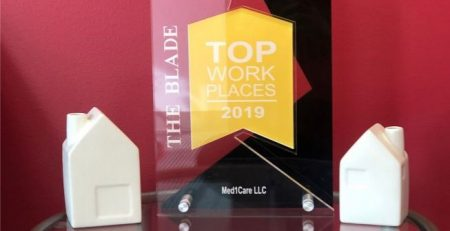 Homecare Toledo OH - 2019 Toledo Blade's Top Workplace Award